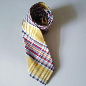 Nautica Bold Plaid Silk Tie